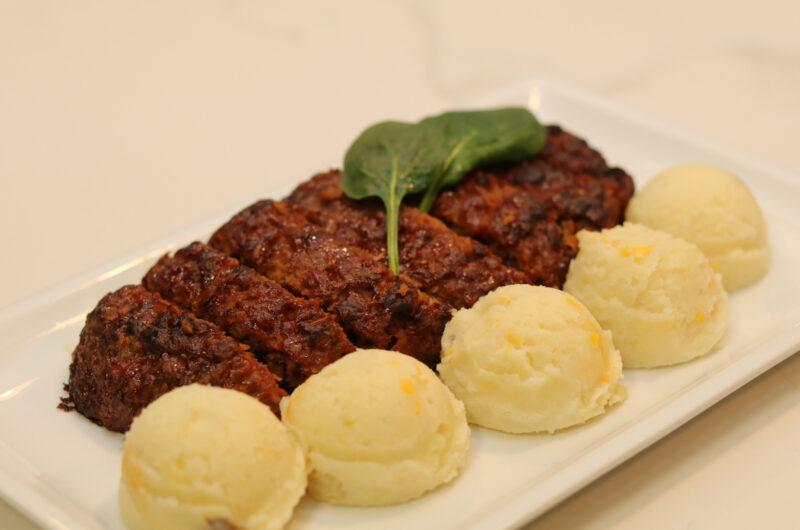 Beyond Beef Ground Homemade Quick & Easy Vegan Meatloaf [Recipe]